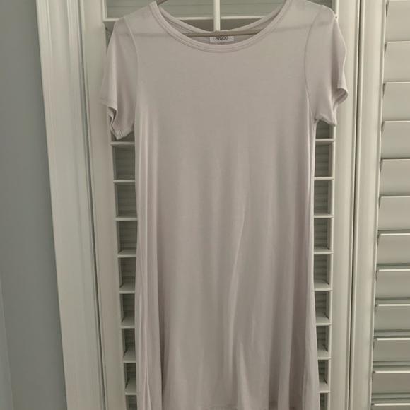 Ooyoo - Off White Tshirt Dress